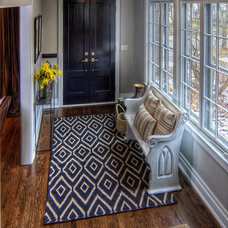 Transitional Entry by Kate Marker Interiors