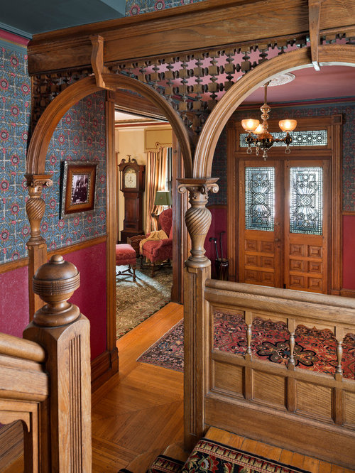 Victorian Style Foyer : Victorian foyer home design ideas pictures remodel and decor