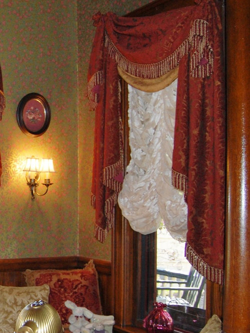 Victorian Home in Asheville, NC - Period Window Treatments