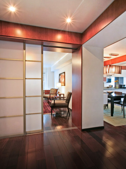 Contemporary Entry by Rodriguez Studio Architecture PC