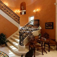 Mediterranean Entry by Preston Custom Homes