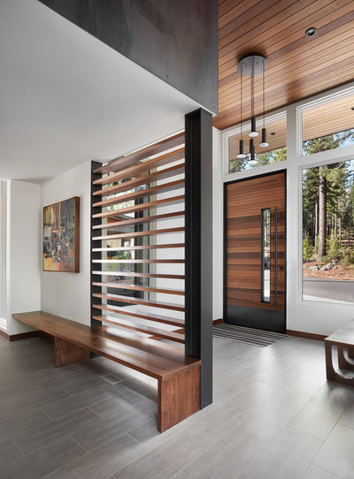 Contemporary Entry by Hills & Grant