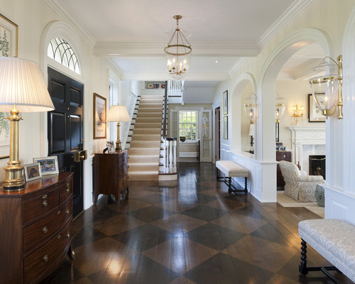 entry foyer hardwood floors photos - Hardwood Floor Design Ideas