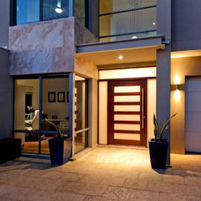 Contemporary Entry by Wishlist Homes