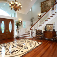 Traditional Entry by J. Hettinger Interiors
