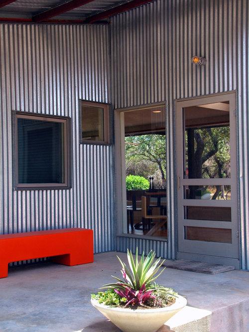 Best Corrugated Galvanized Steel Siding Design Ideas