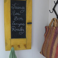 Eclectic Entry Wall Rack Sign
