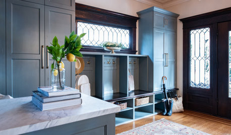 Designer Makes a 1906 Home's Gracious Entry More Functional