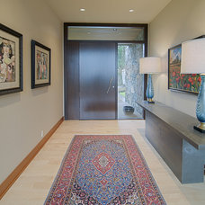 Contemporary Entry by J.A. Hand Construction, Inc.
