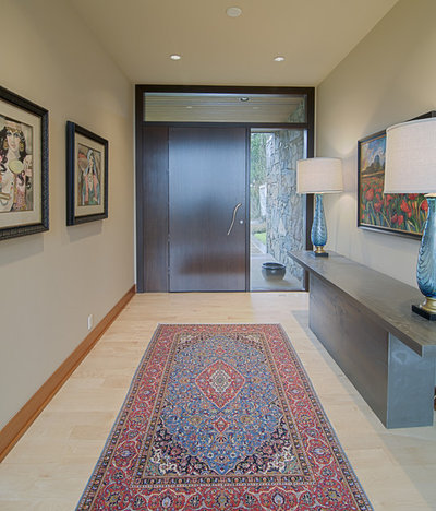 Contemporary Entry By JA Hand Construction Inc