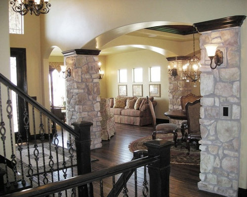 Faux Stone Columns Home Design Ideas, Pictures, Remodel and Decor