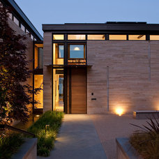 Contemporary Entry by Stuart Silk Architects   Limited PS