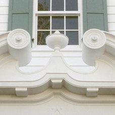 Traditional Porch by Duncan McRoberts Associates, LLC