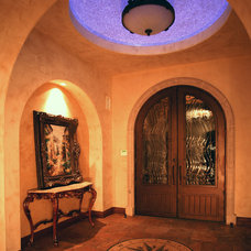 Mediterranean Entry by Alberto Jauregui Designs, Inc.