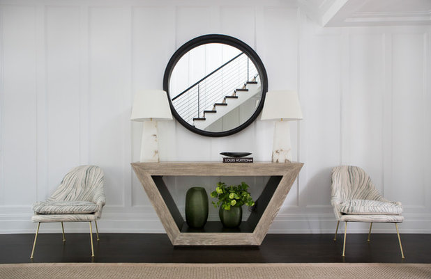 Transitional Entry by Vanessa Rome Interiors