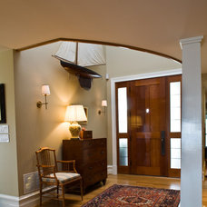Traditional Entry by Gate One Builders