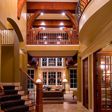 Traditional Entry by BohLand Homes