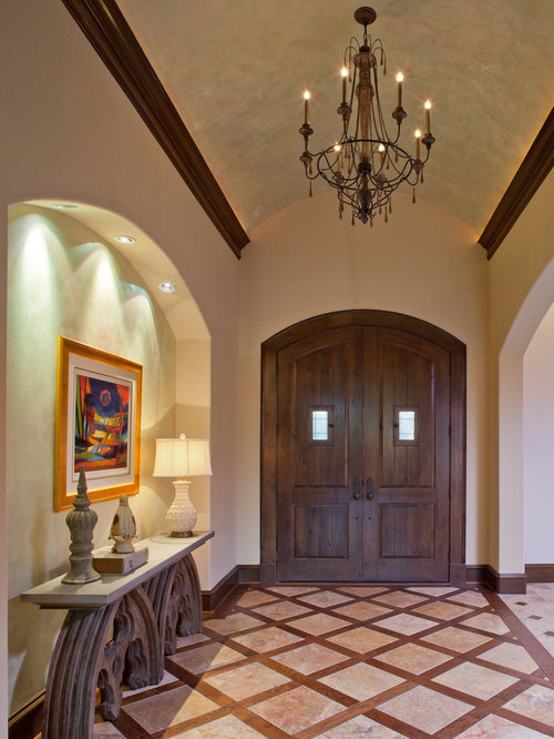Entry Foyer Lighting Houzz : Niche in foyer houzz