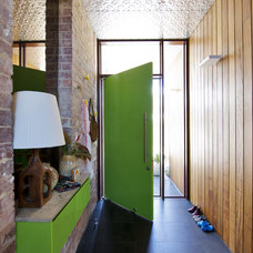 Midcentury Entry by Klopper and Davis Architects