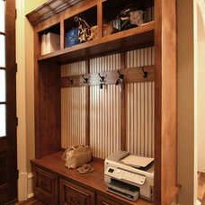 Traditional Entry by Walker Woodworking