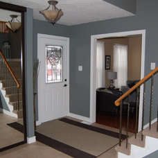 Eclectic Entry by Decked Out Spaces