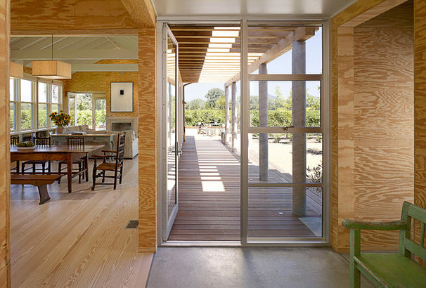 Farmhouse Entry by Nick Noyes Architecture
