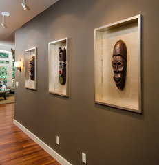 eclectic entry by Pangaea Interior Design, Portland, OR