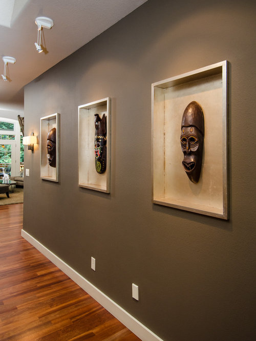 Recessed Art Niche Home Design Ideas, Pictures, Remodel ...