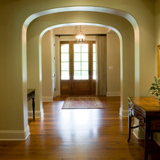 Traditional Entry by Marcelle Guilbeau, Interior Designer