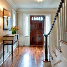 Traditional Entry by M.S. Vicas Interiors