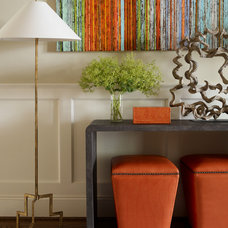 Transitional Entry by Catherine M. Austin Interior Design