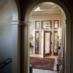 traditional entry by Frederick + Frederick Architects