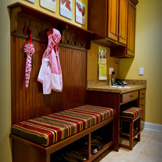Traditional Laundry Room by Virginia Maid Kitchens