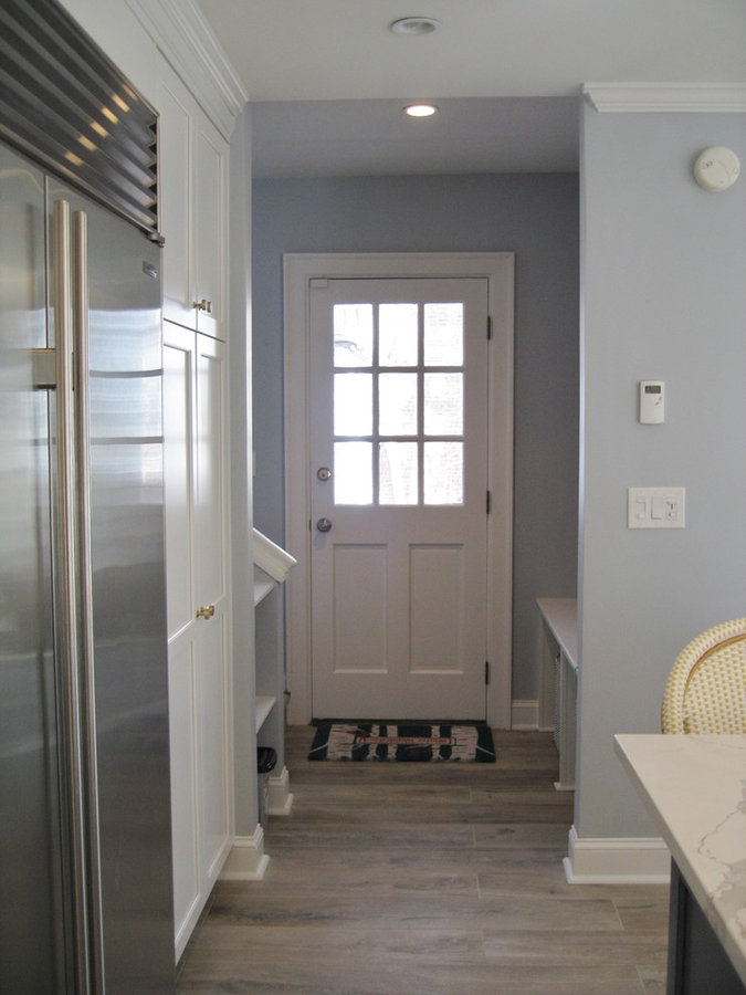 White, Blue and Brass in Bronxville