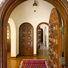 mediterranean entry by Jessica Helgerson Interior Design