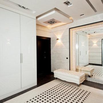 White flat in Minsk