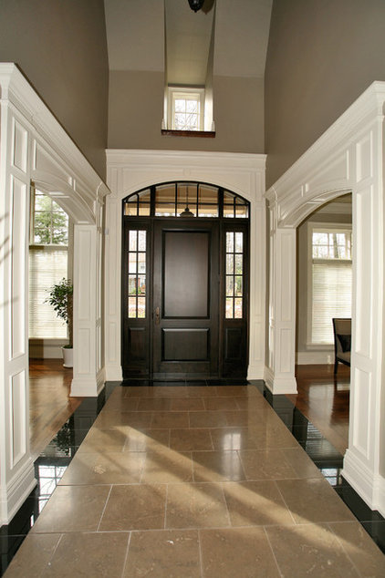 Traditional Entry by Foremost Construction Inc