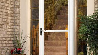 White Screen Door with Screen Away®