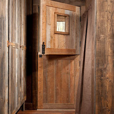 Rustic Entry by Montana Creative architecture + design