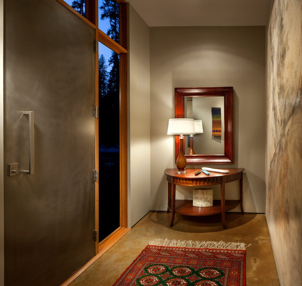 Contemporary Entry by CTA Architects Engineers