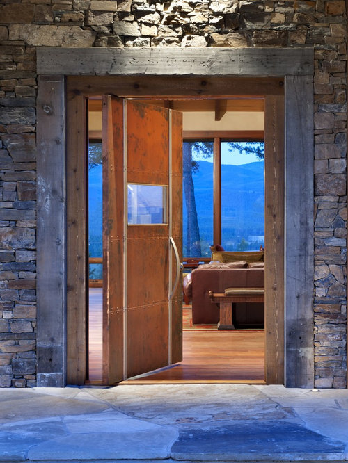 Rustic Entry Door Home Design Ideas Pictures Remodel And