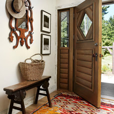Rustic Entry by Jessica Jubelirer Design