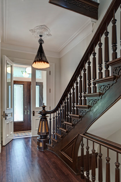 Traditional Entry by Buckingham Interiors + Design LLC
