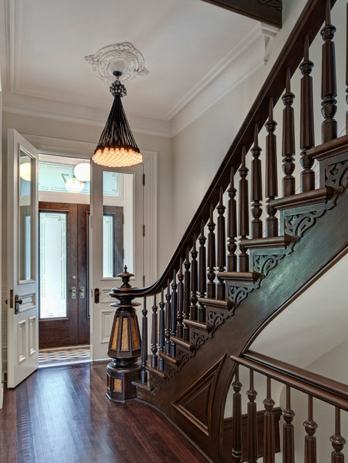 Foyer Art Questions : Victorian staircase ideas pictures remodel and decor