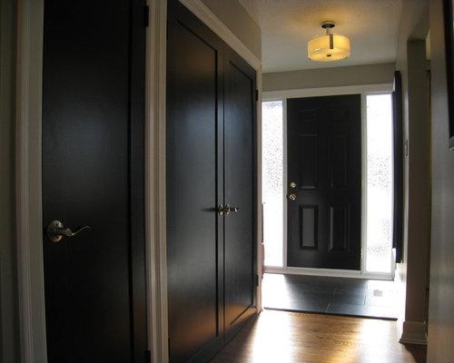 black interior doors houzz