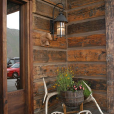 Traditional Entry by Legends West Reclaimed Lumber