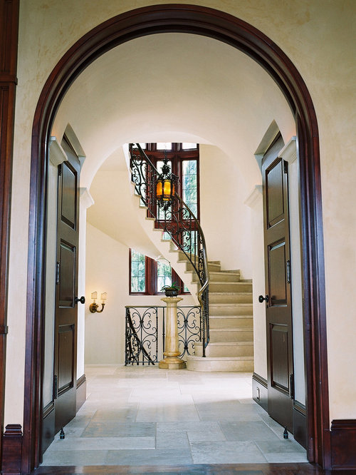 Houzz Foyer Paint : Mahogany trim houzz