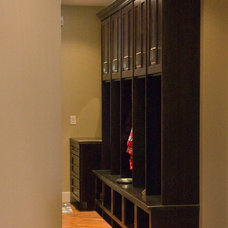 Traditional Entry by Mauk Cabinets by Design