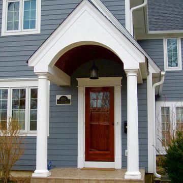 Wilmette, IL Cape Cod Style Home Remodel Windows & Siding
