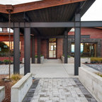 Allee House Modern Porch Dc Metro By Mcinturff Architects